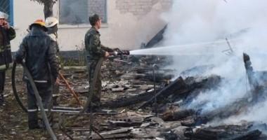 16 mor�i �ntr-un incendiu izbucnit la un azil de b�tr�ni din vestul Ucrainei