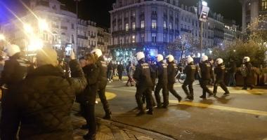 Incidente la Bruxelles: Patru persoane aduse în faţa justiţiei