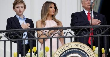 Incident viral: Ghiontul de Paşti  al Melaniei pentru Donald Trump