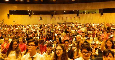 Cum au sărbătorit elevii din Constanţa Independența României