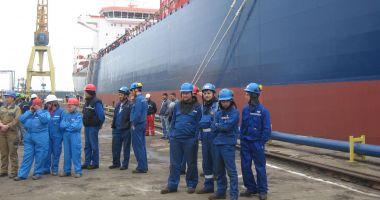 Industria navală românească este departe de performanțele din 2008