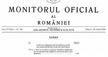 Info fiscalitate: noutăţi legislative