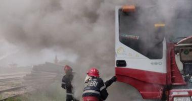 Intervențiile în caz de incendiu pentru obiectivele CN APM SA Constanța sunt asigurate de serviciile specializate
