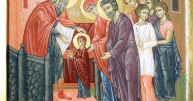 Intrarea în biserică a Maicii Domnului, la Mănăstirea