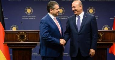 Întrevedere între şefii diplomaţiilor germană şi turcă, în vederea  îmbunătăţirii relaţiilor bilaterale