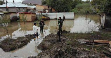 Cod galben de inundații pe râurile mici din jumătatea de nord a județului Constanța