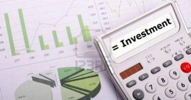 Investițiile nete din economie, salt de 6,4%