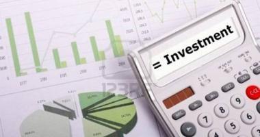 Investiţiile nete din economie sunt mai mici cu 3,1%