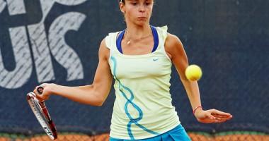 Perechea Ioana Ducu/Nina Stojanovici, în sferturi de finală la dublu junioare la Wimbledon