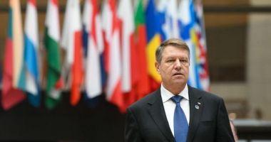 Preşedintele Iohannis, la reuniunea Consiliului European de la Bruxelles