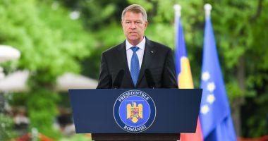 """Klaus Iohannis: """"Mulți se așteptau ca mandatul României să fie mediocru"""""""