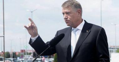 """Klaus Iohannis: """"S-a ales praful de promisiunile PSD, guvernarea este un eşec de la un capăt la altul"""""""