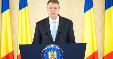 """Preşedintele Klaus Iohannis: """"Reducerea bugetelor din domeniul securității naționale, un demers iresponsabil"""""""