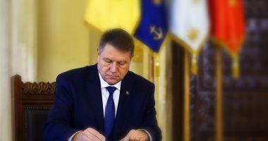 Klaus Iohannis a eliberat din funcție trei judecători