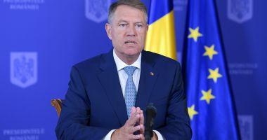 Hotărâre iremediabilă a preşedintelui Klaus Iohannis