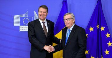 Președintele Iohannis, vizită la Bruxelles. Legile Justiției, pe agenda întâlnirilor sale cu Juncker și Tusk