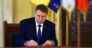 Iohannis cere reexaminarea legii privind exproprierea pentru cauză  de utilitate publică