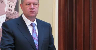 Iohannis, supărat pe senatori din cauza votului în cazul Vosganian