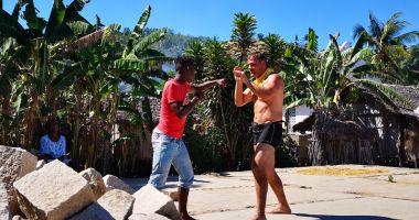 Ionuț Iftimoaie, antrenor de kickboxing în Madagascar