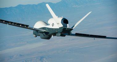 Iranul anunță că a doborât o dronă americană deasupra teritoriului său
