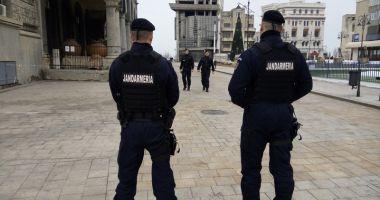 Jandarmii constănţeni asigură ordinea publică la examenul de bacalaureat