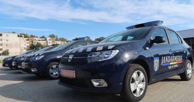 Jandarmii constănţeni au primit patru autospeciale noi