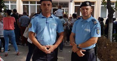Jandarmii, alături de elevii  din Constanţa şi în acest an şcolar