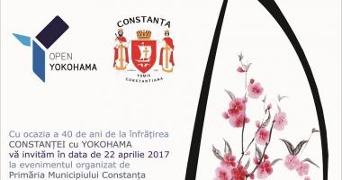 Constănţenii, invitaţi să marcheze 40 de ani de la înfrăţirea cu oraşul Yokohama