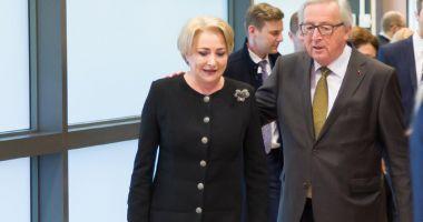 """Jean-Claude Juncker: """"Sper  ca România să devină membru al spațiului Schengen"""""""