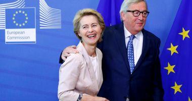 """Jean-Claude Juncker spune că Ursula von der Leyen este o """"europeană adevărată"""""""