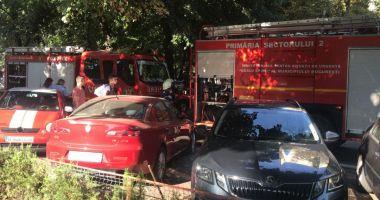 Explozie puternică într-un bloc din București