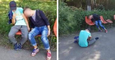 Avocatul Poporului s-a sesizat în cazul imaginilor cu tineri prăbuşiţi pe stradă