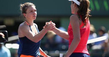 Simona Halep victorie cu Johanna Konta,  în turul 2 al Madrid Open