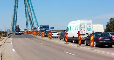CNADNR închide total traficul pe Podul Agigea