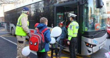 CT BUS reia cursele speciale pentru transportul școlarilor și preșcolarilor