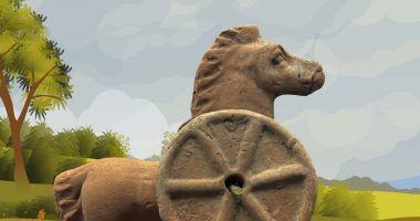 Jucăriile din Tomisul antic, prezentate într-o expoziţie online