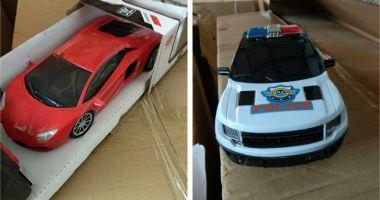 Jucării contrafăcute, confiscate în Portul Constanţa Sud Agigea