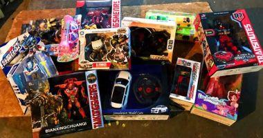 Jucării contrafăcute, confiscate în Portul Constanța Sud Agigea