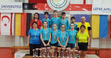 Jucătorii de tenis de masă constănţeni, medaliaţi  la turneul din Cipru