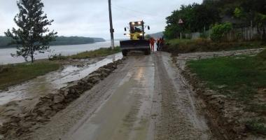 Oraşul Cernavodă sub ape! Locuinţe evacuate şi sute de consumatori fără curent electric