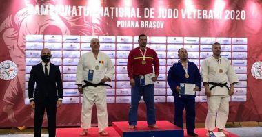 Judokanii de la CS Agigea, pe podium la Naţionalele veteranilor