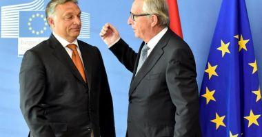 Juncker îl acuză pe Viktor Orban că desfăşoară campanii  de dezinformare