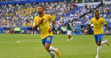 GALERIE FOTO / CM 2018. BRAZILIA - MEXIC 2-0. Neymar şi Firmino duc Brazilia în sferturi!