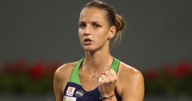 Tenis / Karolina Pliskova s-a calificat în sferturi la US Open
