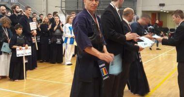 Ervin Ciorabai, medaliat cu bronz la Balcaniada de kendo