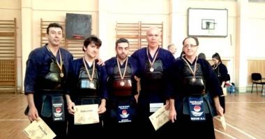 CS Kaybukan, pe podium la Cupa României la kendo