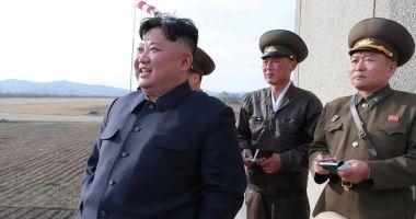 Kim Jong-un a supravegheat testarea unei noi arme tactice