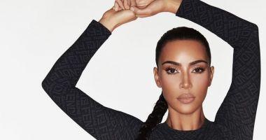 Kim Kardashian West a colaborat cu casa de modă italiană Fendi