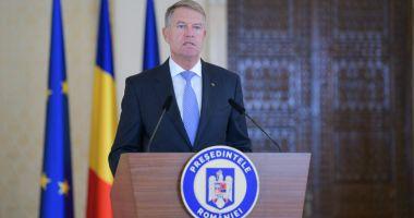 Klaus Iohannis convoacă ședință penrtru restricții