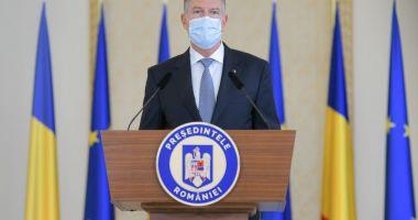 Klaus Iohannis a anunțat noi restricții pentru români. Ce se întâmplă cu elevii